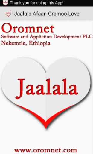 Jaalala Oromoo Love Messages 1