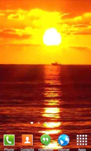 Sunset Ocean Live Wallpaper 3 1
