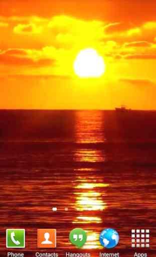 Sunset Ocean Live Wallpaper 3 2