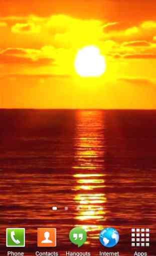 Sunset Ocean Live Wallpaper 3 3