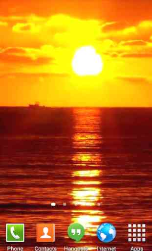 Sunset Ocean Live Wallpaper 3 4
