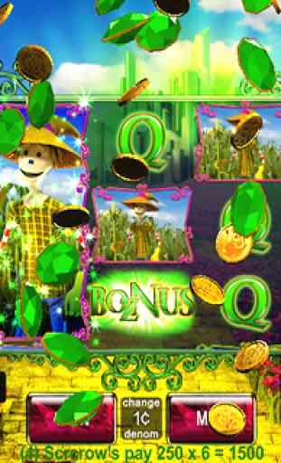 Wonderful Wizard Oz Slots FREE 2