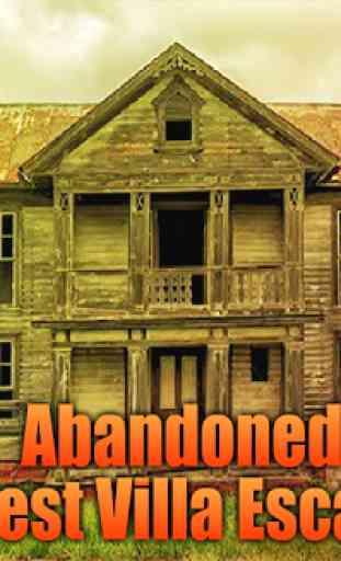 Abandoned Forest Villa Escape 1