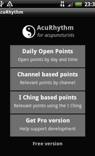 AcuRhythm Acupuncture Points 1