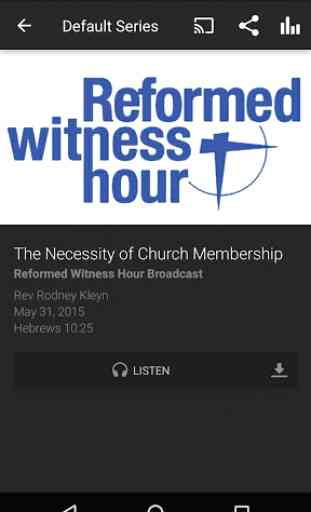 Protestant Reformed Churches 2