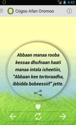 Ciigoo Afaan Oromoo Idioms 4