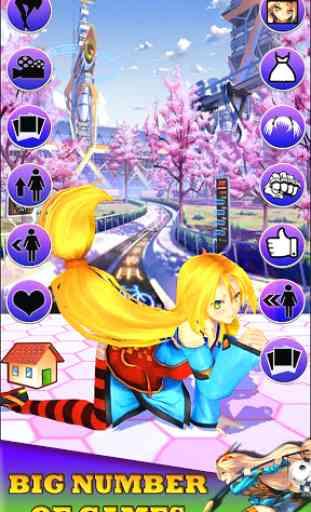 Virtual girlfriend 3D * anime 3