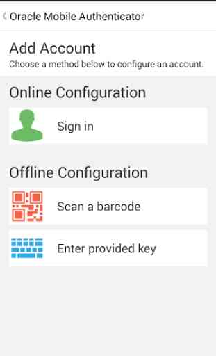Oracle Mobile Authenticator 1