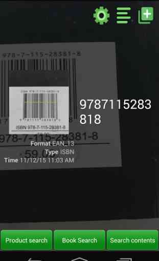 Barcode Scanner Pro 2