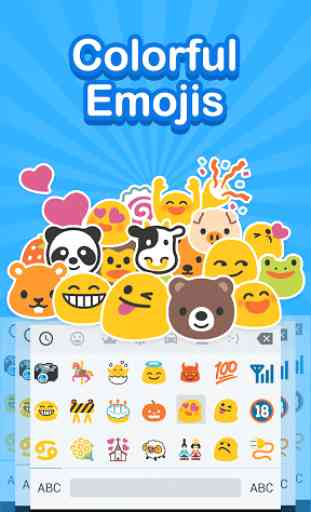 Emoji Keyboard: Cute Emoticons 1