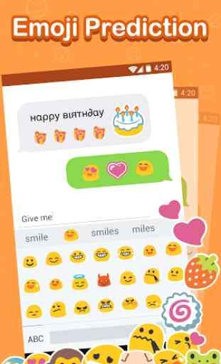 Emoji Keyboard: Cute Emoticons 4