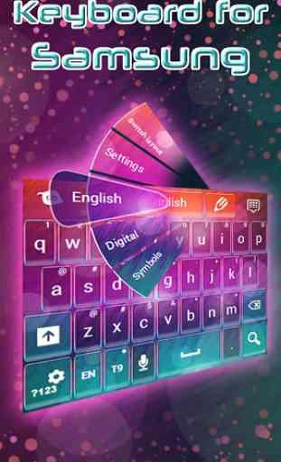 Keyboard for Samsung 3
