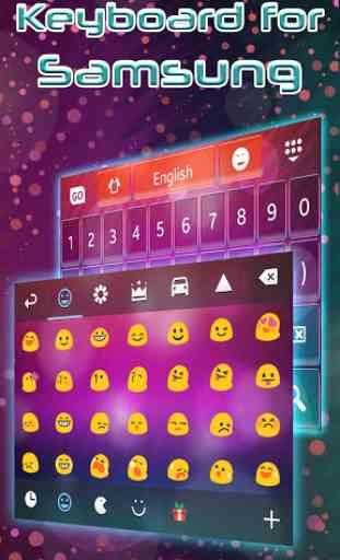 Keyboard for Samsung 4