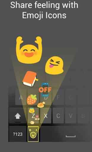 Smart Emoji Keyboard-Emoticons 2