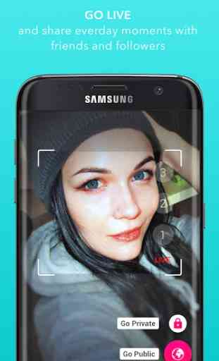 Streamago - Live Video Selfies 1
