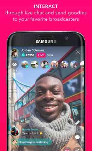 Streamago - Live Video Selfies 2