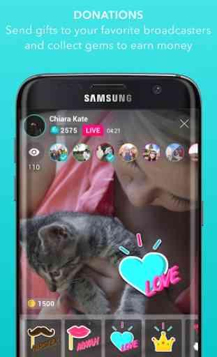 Streamago - Live Video Selfies 3
