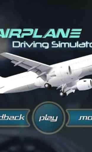 Airplane Driving Simulator 3D 1