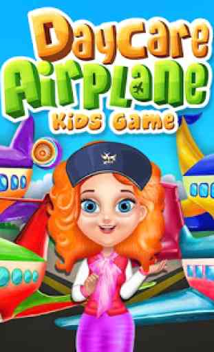 Daycare Airplane Kids Game 1