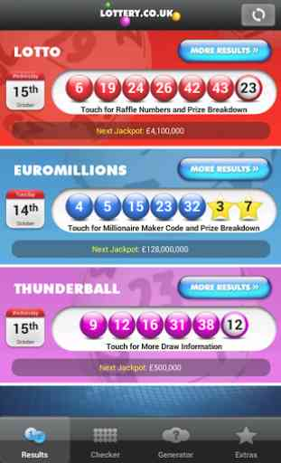 National Lottery Results 2