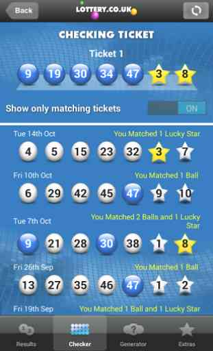 National Lottery Results 4