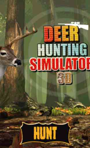 3D Deer Shooting Huntsman game 1