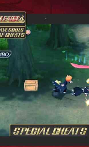 Cheats for Bleach BS 3