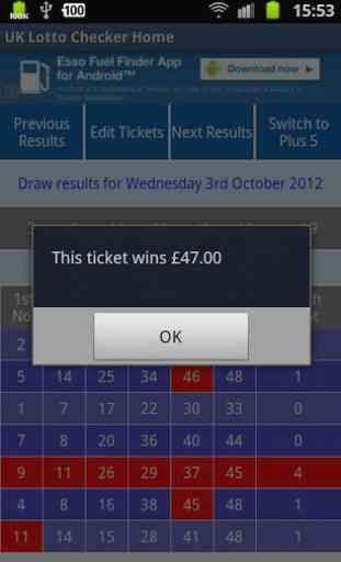 UK Lotto Checker 4