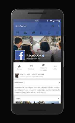 SlimSocial for Facebook 1