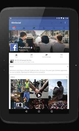 SlimSocial for Facebook 3