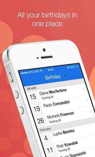 BirthdayAlarm - Official App 1