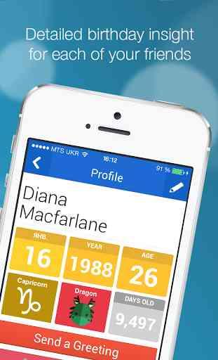 BirthdayAlarm - Official App 4