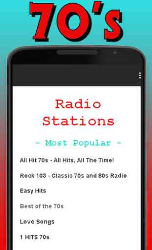 Free 70's Radio Streaming 1