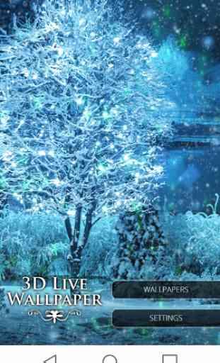 3D Winter Live Wallpaper Free 1