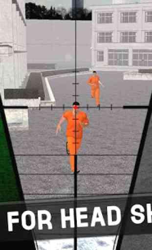 Prison Break: Sniper Duty 3D 3