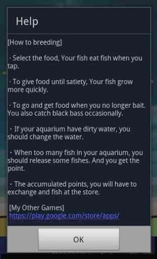 Blackbass Breeding (Aquarium) 4
