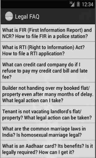 Legal FAQ 2