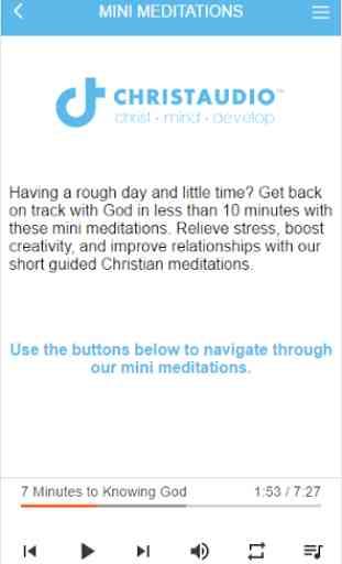 Christian Meditation 4