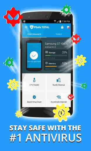 Antivirus, Booster & Cleaner 1