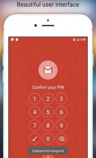 Fingerprint Pattern App Lock 4