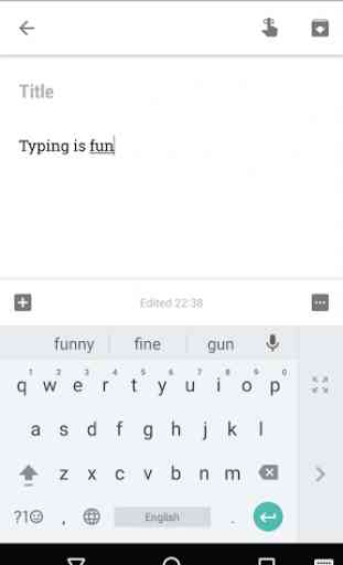 Google Keyboard 2