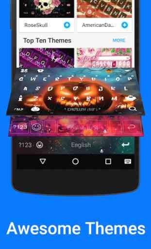Kika Emoji Keyboard Pro + GIFs 3