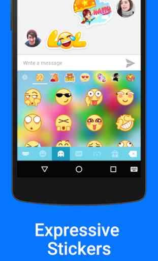 Kika Emoji Keyboard Pro + GIFs 4