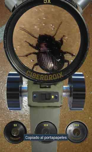 Microscope Realistic 3