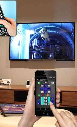 tv remote control 3