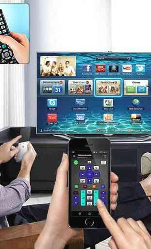 tv remote control 4