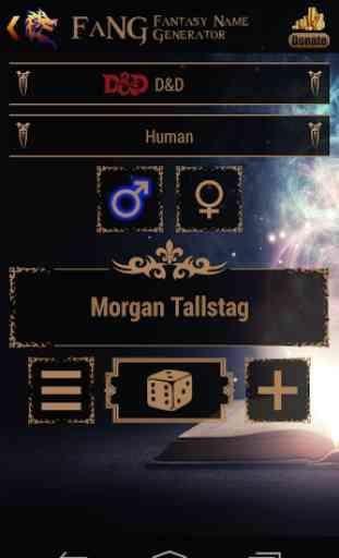 FaNG - Fantasy Name Generator 1