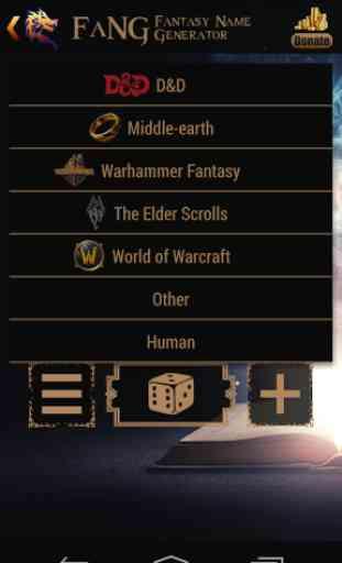FaNG - Fantasy Name Generator 3
