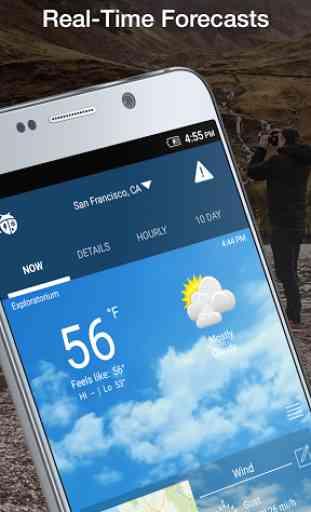 WeatherBug - Forecast & Radar 3