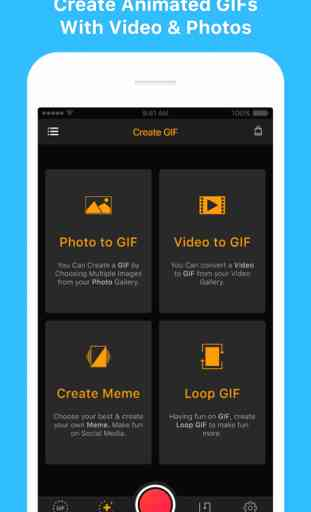 GIF Maker- Meme GIF Creator (iOS) image 1